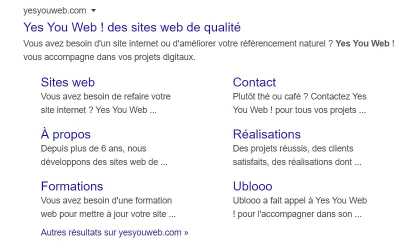 Yes You Web!