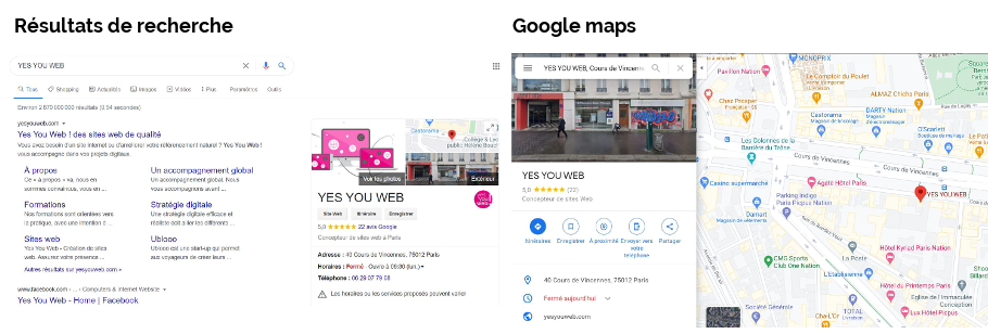 Yes You Web! Google My Business