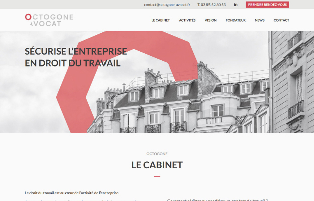 Réalisations Yes You Web! Octogone Avocat