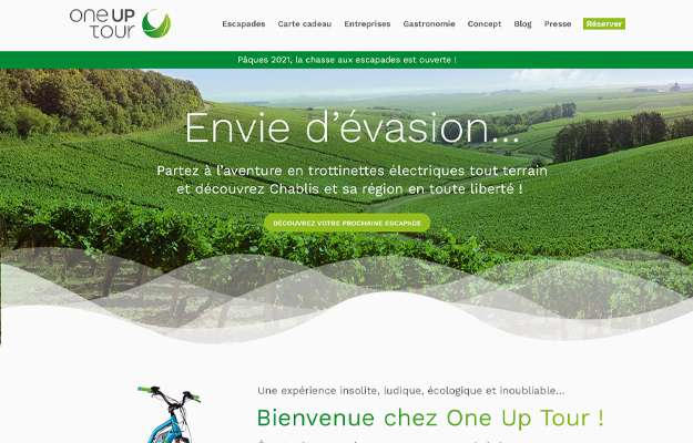 Réalisations Yes You Web! One Up Tour