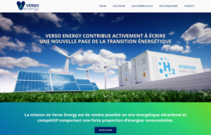 Réalisations Yes You Web! Verso Energy